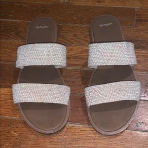 Sanuk double strap sandal